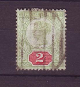 J19310 Jlstamps 1887 great britain used #113 queen