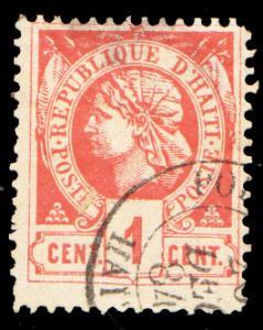 Haiti Scott 7 Used.