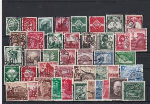 Germany Mixed Vintage Stamps Ref 24813