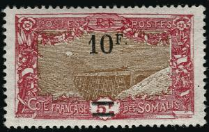 Somali Coast Sc #133 F-VF Mint OG hr French Colonies are Hot!
