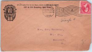 Goldpath: US advertising cover 1895, Boston, MASS.   _CV28_P14