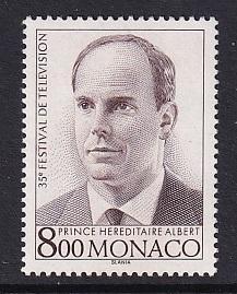 Monaco  #1936    MNH  1995  television festival
