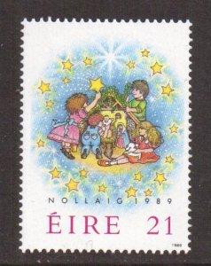 Ireland   #758  MNH  1989  Christmas  children and creche