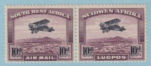 SOUTH WEST AFRICA C6 AIRMAIL  MINT NEVER HINGED OG ** NO FAULTS VERY FINE!