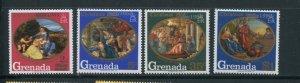 Grenada MH 341-4 Christmas 1968