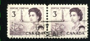 Can #455   pair   u   VF 1967 PD