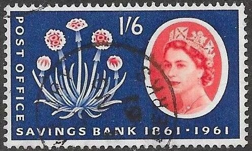 Great Britain 381 Used -   Post Office Savings Bank - Thrift Plant