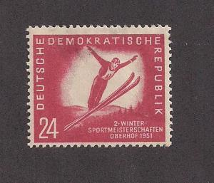 GERMANY - DDR SC# 77 F-VF OG 1951