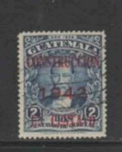 GUATEMALA #RA18 1942 POSTAL TAX F-VF USED b