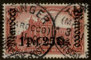 Germany 1903 Morocco Mi30B Tanger CDS No Wmk Reichspostamt Berlin 91978