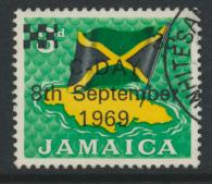 Jamaica SG 282 Used SC# 281  Decimal Currency OPT see details