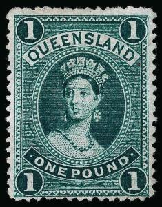 Australia / Queensland Scott 78 Gibbons 156 Mint Stamp