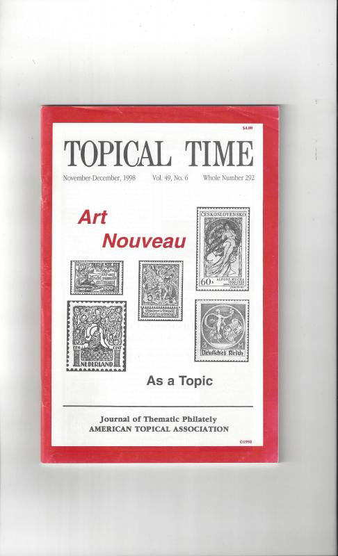Topical Time Magazine NOV-DEC 1998  Number 292, ATA Journal