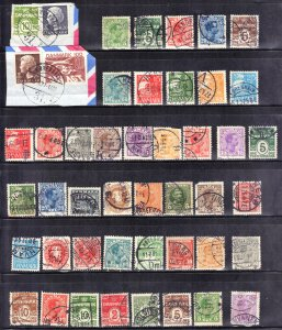 DENMARK VINTAGE STAMP LOT #! SEE SCAN