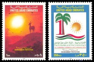 United Arab Emirates 1998 Scott #609-610 Mint Never Hinged