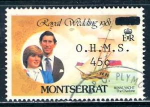 Montserrat; 1982; Sc. # O56; O/Used Single Stamp