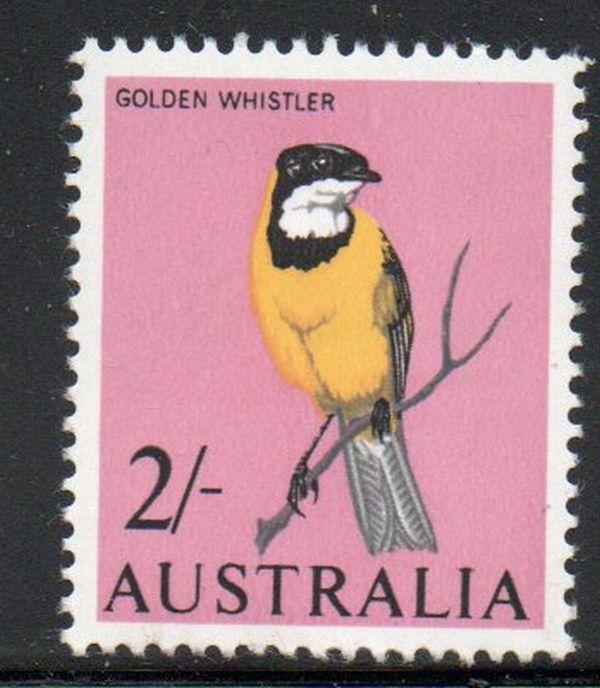Australia Sc 370 1963 2/ bird stamp mint NH