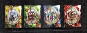 Fiji Island Christmas Decorations 2013  4 var..mnh