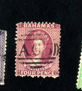BAHAMAS #9 USED FINE Cat $475