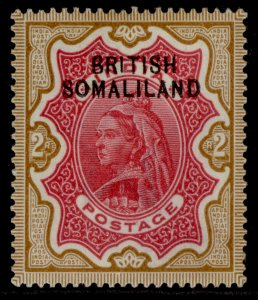 SOMALILAND PROTECTORATE EDVII SG11, 2r carmine & yellow-brown, M MINT. Cat £35.