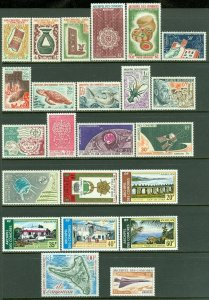 EDW1949SELL : COMOROS Nice collection of ALL DIFF VF MNH COMPLETE SETS. Cat $143