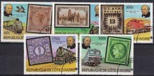 Ivory Coast #514-8  F-VF Used   (Z4957)