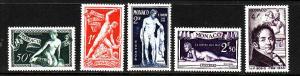 Monaco-Scott#209-13-unused NH set-J.F.Bosio-