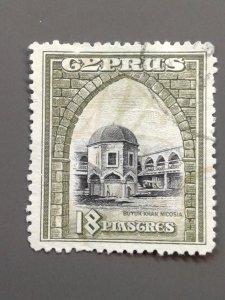 Cyprus 134 F-VF Revenue Use. Scott $ 50.00