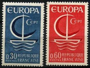 1966 France 1556-57 Europa Cept