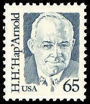 PCBstamps    US #2191 65c Gen. HapH. Arnold, 1988, MNH, (7)