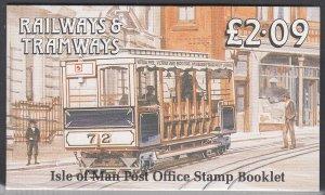 Isle of Man 356a, 356b MNH Booklet Pane