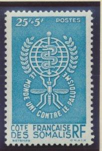 Somali Coast (Djibouti) Stamp Scott #B15, Mint Lightly Hinged - Free U.S. Shi...