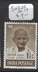 INDIA  (PP0704B)  GANDHI  1 1/2A  SG 305    MOG