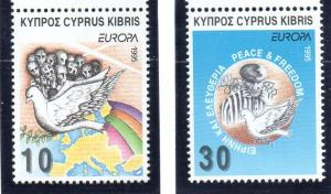 Cyprus Sc 863-4 1995 Europa stamp set mint NH