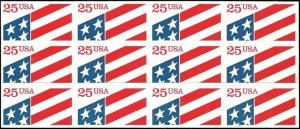 US - 2475a - MNH - Booklet Pane of 12 - SCV-6.60