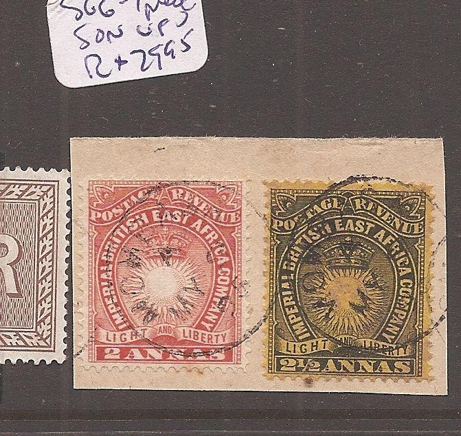 British East Africa SG 6-7 piece SON VFU (12dco)