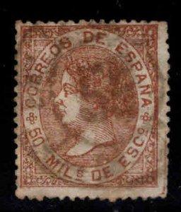 Spain Scott 97 Used