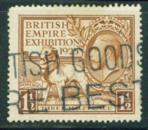 Great Britain KGV Scott 204 CV$80 Solid Stamp Great Cx