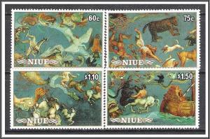 Niue #505-508 Constellations MNH