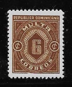 DOMINICAN REPUBLIC STAMP MNH # OCTUX6
