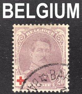 Belgium Scott B27  F+ used.