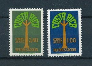 [104382] Costa Rica 1980 Flora trees baumen  MNH