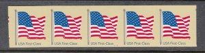 USA PNC SC# 4134 FLAG F.C. ($0.41c) PL# V1111 DEAD LONG WAVES. S.A. PNC5 MNH