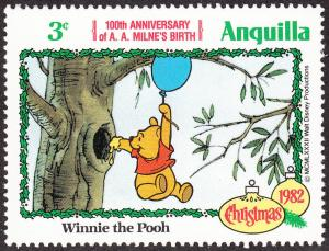 Anguilla #513 Winnie the Pooh MNH