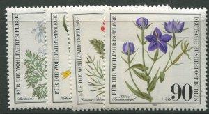 STAMP STATION PERTH Germany #9NB171-174 Wildflower Type 1980- Set - MNH