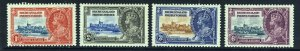BECHUANALAND PROTECTORATE KG V 1935 The Silver Jubilee Set SG 111 to SG 114 MINT