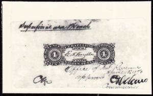T.E. VARIETY E.T. HAZELTINE PHOTO ESSAY APPROVED 4¢ BY COMMISSIONER BT6261
