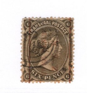 Transvaal #101 Perf Used - Stamp CAT VALUE $10.00