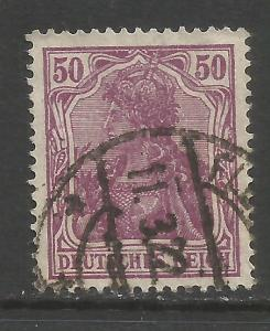 GERMANY 125 VFU GERMANIA Z5027-4