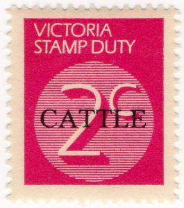 (I.B) Australia - Victoria Revenue : Cattle Duty 2c